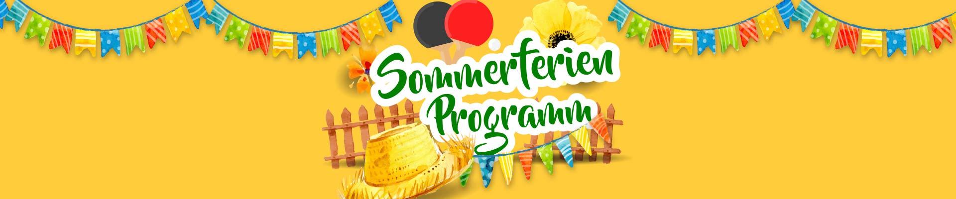 Tischtennis-Schnupperkurs beim Sommerferienprogramm 2018